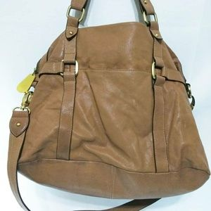 Vince Camuto Brown Weekend Travel Vacation Bag